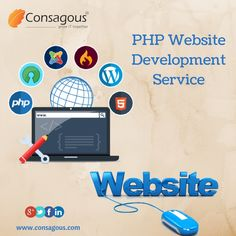 Get excellent PHP web development services, for building quality and customized software applications for your online business.