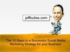10 Steps to a Successful #SocialMediaMarketingStrategy (Great quote: todo lo que puede ser buscado, puede ser optimizado)