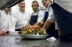 Are you visiting St Merryn this summer? Don't miss a trip to Rick Stein's famous Seafood Restaurant in Padstow. On the menu: fresh local fish and shellfish!