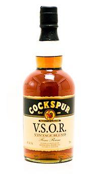 Cockspur Very Special Old Reserve (VSOR) Vintage Blend Rum