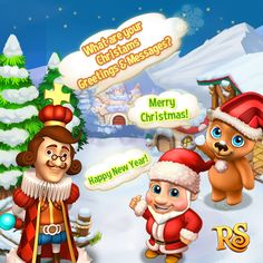 Happy Weekend Quiz Time! Join Now!  http://t.funplus.com/trenfpu  Christmas is on the way!  We hope you will share your Christmas Greetings & Messages in the comments below with us for your dearest Royal Story Friends! They could even be for King Jarvis and the Royal Story Team!  4 lucky players with good Christmas Wishes will be chosen next Monday and rewarded with 1 ruby each! Moreover their wishes will be updated on Royal Story and shared with everyone!   COMMENT your Christmas Wishes…