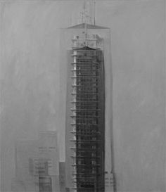Ramón Serrano, #9 , LO QUE SE VE ES LO QUE SE VE, 2003, acrylic on canvas, 63x55in  © Courtesy Corkin Gallery