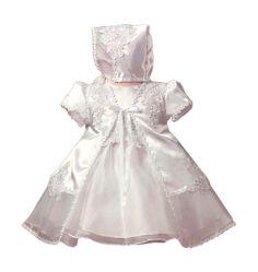 Vestido para Batizado Encanto de Bebê