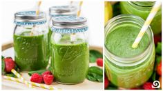 Jolly Green Smoothie - Blendtec Recipes ----> http://www.blendtec.com/recipes/jolly_green_smoothie