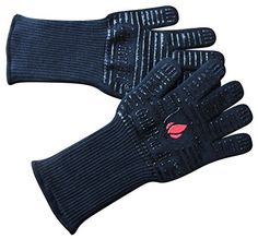 Extreme-Heat-BBQ-Grill-Gloves-for-Baking-Grilling-Oven-Use-Protection-Up-To-932-14-Long-2-Gloves