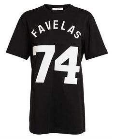 be45b43a82e GIVENCHY - Favelas Embroidered Suede T-shirt  givenchy  brownsfashion  Latest Fashion Design