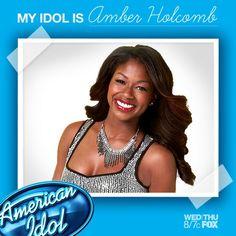 My Idol is Amber Holcomb!