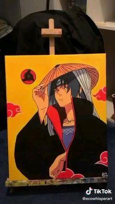 Konoha Naruto, Sasuke Sharingan, Itachi Akatsuki, Naruto Sd, Naruto Shippuden Anime, Manga Art, Anime Art, Naruto Painting, Naruto Sketch