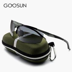 281ff603cff5f GOOSUN Alumínio Óculos Polarizados Homens Grife de Condução espelho Óculos  de Sol do esporte Com Caixa gafas oculos de sol masculino em Óculos de sol  de Dos ...