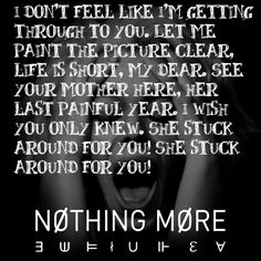 Jenny - Nothing More  I have only heard a couple songs but this band is amazing!!
