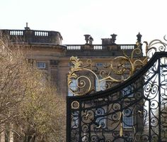 The gate, Chatsworth house