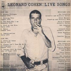 design-is-fine:  Roslaw Szaybo, cover artwork for Leonard Cohen:...