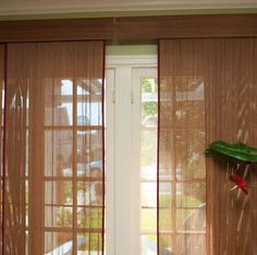 Patio Door Window Treatments Ideas Magnificent Interior Decorations Accessories Exquisite Doors With Brown Sheer Curtain For Sliding