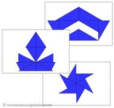 This set includes 20 design cards to be used with the Blue Constructive Triangles Box. A great addition to your Montessori sensorial area. Maria Montessori, Montessori Elementary, Montessori Toddler, Montessori Materials, Montessori Activities, Book Activities, Triangles, Triangle Design, Shaped Cards