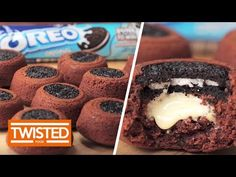 Upside Down Oreo Muffins - Twisted