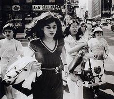 Rudy Burckhardt 34th Street 1978. @siriah via Hilarie Hughes
