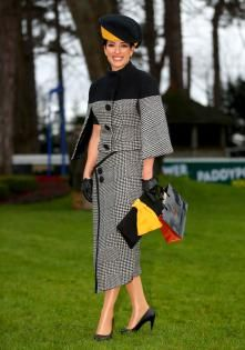 Offaly woman and fashion blogger Lisa McGowan walked away with the top prize as the 'Best Dressed Lady' at the Irish Gold Cup meeting at Leopardstown last weekend. Lisa, who runs a blog called 'Lisa's Lust List,' scooped the award for her fashionable... Gold Cup, Lust, Nice Dresses, Peplum Dress, Irish, Awards, Woman, Blog, Tops