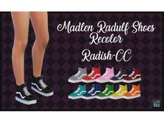The Sims 4 Madlensims Radulf Shoes Recolor by radish-cc - sims - Shoes Sims 4 Mods, Sims 4 Game Mods, Sims 4 Toddler Clothes, Sims 4 Cc Kids Clothing, Toddler Cc Sims 4, Children Clothing, Sims 4 Cc Skin, Sims Cc, Fitness Snacks