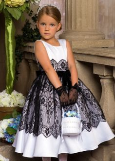Where are my kid designers. Comman see how you can use our chantilly lace trim on a princess's dress. Isn't it lovely. Little Dresses, Little Girl Dresses, Cute Dresses, Girls Dresses, Flower Girl Dresses, Fashion Kids, Little Girl Fashion, Toddler Dress, Baby Dress