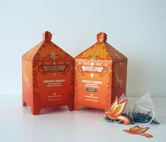 Limited Edition Packaging for Bigelow Tea Company by Christine Kang, via Behance
