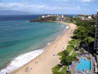 Kaanapali Beach, Maui, Hawaii. Hands down... my favorite beach in Maui.