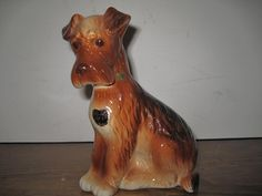 Vintage Royal Copley Dog Figurine