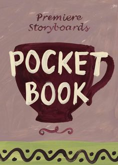 Pocket Book Cover, Premiere Storyboards Storyboard, Lettering, Pocket, Cover, Illustration, Books, Libros, Book, Drawing Letters