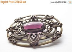 HolidaySale Dunn Art Nouveau Antique Purple by In2vintagejewelry2
