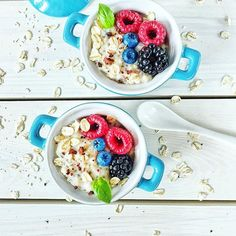 Good morning! It's #friday! So #nice and #goodday . I start It with #yummy and #healthy full of #fruits #oatmeal - #healthychoices at The #breakfast :heart_eyes: #oats #healthyfood #food #foodie #instamood #pyszny #sniadanie #sniadaniemistrzow #owsianka #
