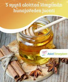 5 syytä aloittaa lämpimän hunajaveden juonti  Tiesitkö, että päivän #aloittaminen lasillisella lämmintä hunajavettä on avuksi #aineenvaihdunnan parantamisessa ja #painonpudotuksessa?  #Luontaishoidot