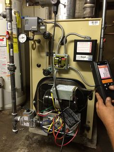 Converting oil to gas steal boiler in Irvington, NJ  For more information, check out our website: http://njplumbingchoice.com/oil_to_gas_conversion_zip.asp?zip=07111