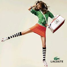 Lacoste style shoot..  again bright vs. monochrome  jumping/action