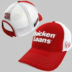 Product ID: C312420010 #31 Ryan Newman 2014 Quicken Loans Pit Cap Hats Officially Licensed from Chase Authentics® for more #31 Ryan Newman fan gear visit www.nascarshopping.net #NASCAR #Hats #Caps #Raceday #FanGear #31Ryannewaman #RyanNewman #RichardChildressRacing  #RCR