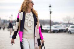The Latest Street Style Photos From Paris Fashion Week via @WhoWhatWearUK