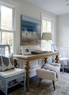 Mood Board // Coastal Family Room