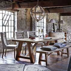 Salisbury | Dining Ranges | Dining Room | Warehouse Home Design Magazine