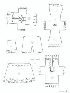 clothespin doll clothes patterns - My WordPress Website Doll Clothes Patterns, Doll Patterns, Clothing Patterns, Folk Clothing, Clothes Pin Ornaments, Clothespin Dolls, Clothespin Crafts, Clothes Pegs, Tiny Dolls