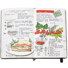 Recipe_journal_2 | par Anna Rastorgueva