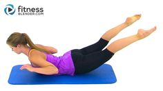 Bikini Body Pilates - 27 Minute Abs, Butt and Thighs Pilates Workout by ...