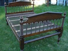 1800 S Antique Cannonball Rope Bed Beds Pinterest