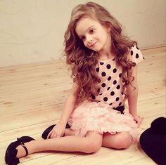 Milana Kurnikova Child Models, S Models, Young Fashion, Kids Fashion, Supermodels, Little Girls, Portrait, Children, Photography