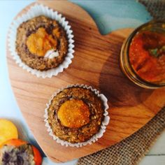 Chai-Spiced Persimmon Muffins #PureFuel