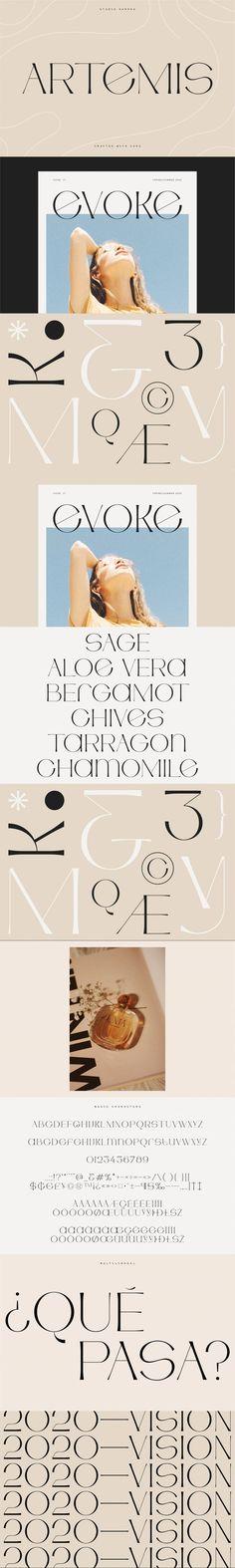 Artemis – Semi-serif Unique Typeface #modern #WeddingDesign #opentype #multilingualfont #artemis #fashiontypography #quote #studioaurora #decorative #opentypefont #LetteringFont #portfolio #font #uniquefont #socialmedia #weddingfont #summer #VintageFonts #minimalfont