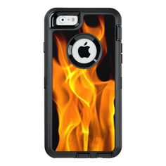 Flame Design OtterBox iPhone 6/6s Case