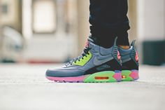 Nike 2014 Holiday Air Max 90 Sneakerboot Ice Collection