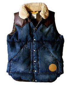 reputable site c2d34 b7208 denim wool vest Denim Jeans, Jeansjackor, Blå Jeans, Idéer, Jackor,  Västernkläder