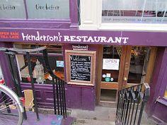 A cornerstone of the Edinburgh dining scene for half a century