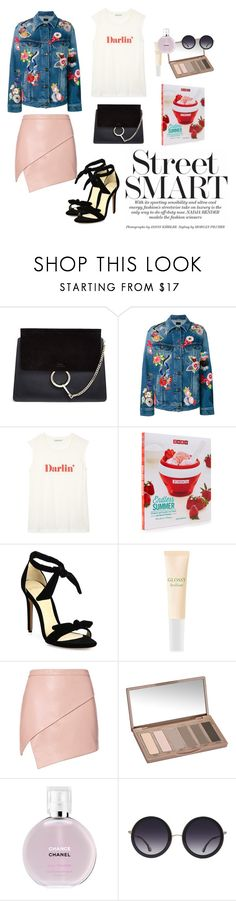 """Day #5"" by aliciastagram ❤ liked on Polyvore featuring Chloé, Yves Saint Laurent, Rebecca Minkoff, Alexandre Birman, Kat Burki, Michelle Mason, Urban Decay, Chanel and Alice + Olivia"