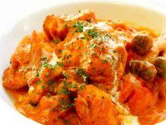 ★鶏のトマトクリーム煮★の画像