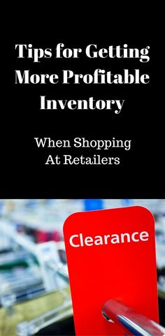 Tips for Getting More Profitable Inventory When Working With Retailers Business Profile, Business Tips, Online Business, Make Money From Home, Make Money Online, How To Make Money, Amazon Jobs, Online Marketing Strategies, Pinterest For Business